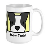 Animals/boston terrier/mugs Coffee Mugs