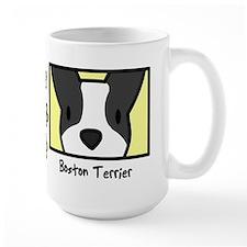 Anime Boston Terrier Mug