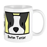 Animals/boston terrier/mugs Small Mugs (11 oz)