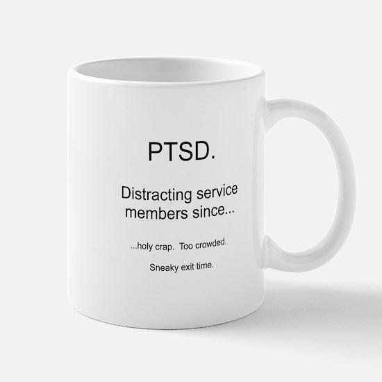 PTSD - Sneaky exit time Mug