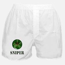 Night Vision Ice Hockey Sniper Boxer Shorts