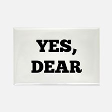 Yes, Dear Rectangle Magnet (100 pack)