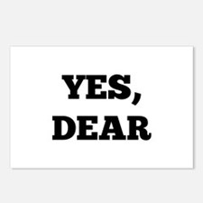 Yes, Dear Postcards (Package of 8)