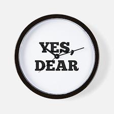 Yes, Dear Wall Clock