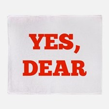 Yes, Dear Stadium Blanket
