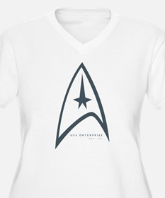 USS Enterprise Plus Size T-Shirt