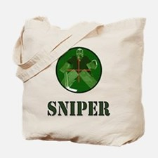 Night Vision Ice Hockey Sniper Tote Bag