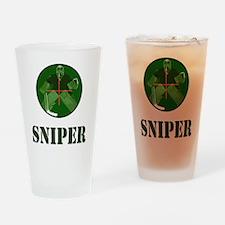 Night Vision Ice Hockey Sniper Drinking Glass