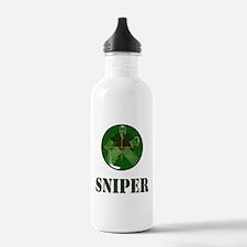 Night Vision Ice Hockey Sniper Water Bottle