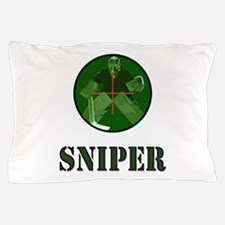 Night Vision Ice Hockey Sniper Pillow Case