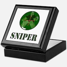 Night Vision Ice Hockey Sniper Keepsake Box