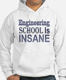 Engineering School Is Insane! Hoodie