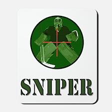 Night Vision Ice Hockey Sniper Mousepad