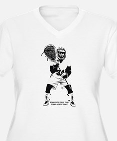 Behind Every Great Team Plus Size T-Shirt