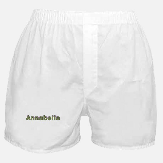 Annabelle Spring Green Boxer Shorts