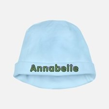 Annabelle Spring Green baby hat