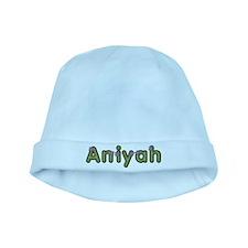 Aniyah Spring Green baby hat