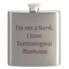 Technological Machismo Flask