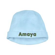 Amaya Spring Green baby hat