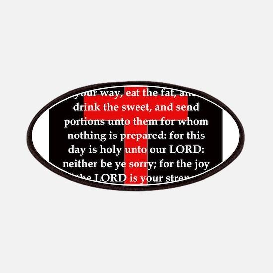 Nehemiah 8:10 Patch
