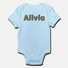 Alivia Spring Green Body Suit