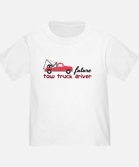 Future Tow Truck Driver T-Shirt