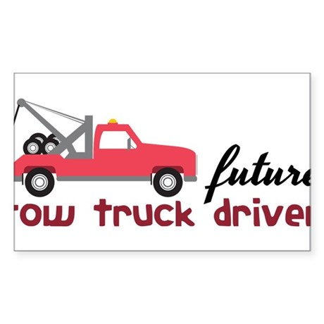 Future Tow Truck Driver Sticker