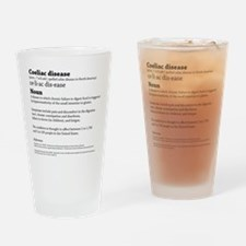 COELIAC CELIAC DISEASE DEFINITION. Drinking Glass