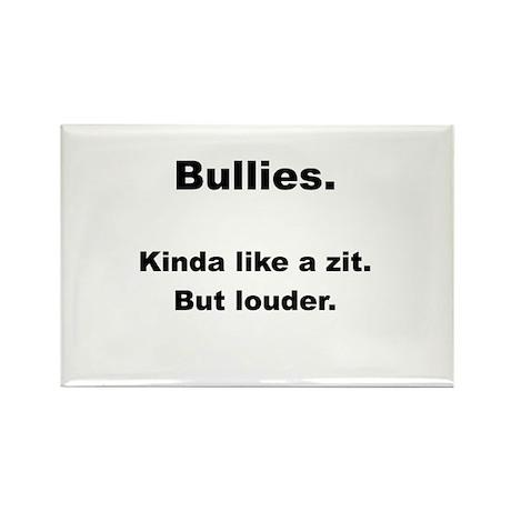 Bullies - Like a Zit Rectangle Magnet