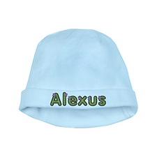 Alexus Spring Green baby hat