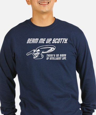 Beam Me Up Scotty Long Sleeve T-Shirt
