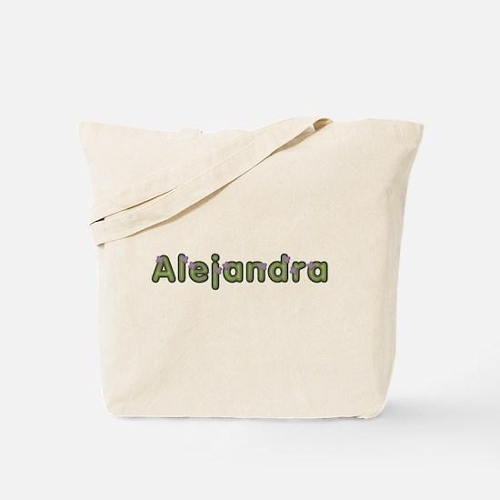 Alejandra Spring Green Tote Bag