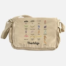 Therbligs Front.png Messenger Bag