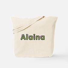 Alaina Spring Green Tote Bag