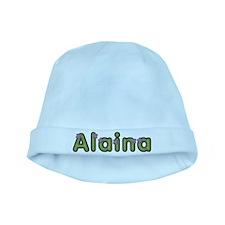 Alaina Spring Green baby hat