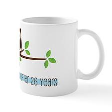 Owl 26th Anniversary Mug