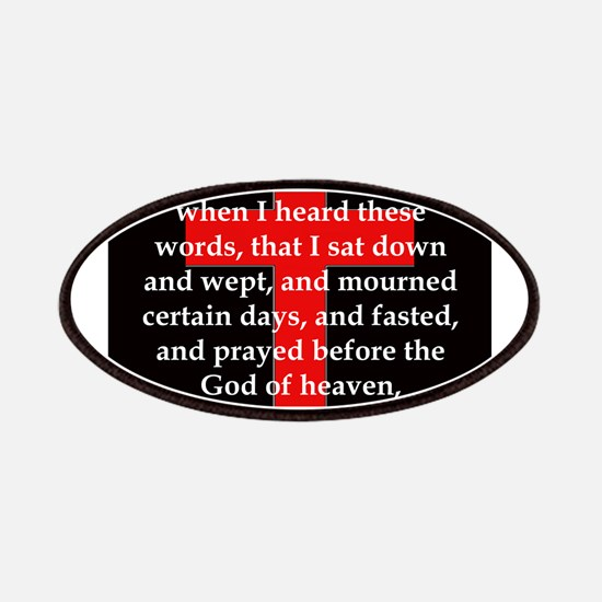 Nehemiah 1:4 Patch