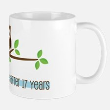 Owl 17th Anniversary Mug
