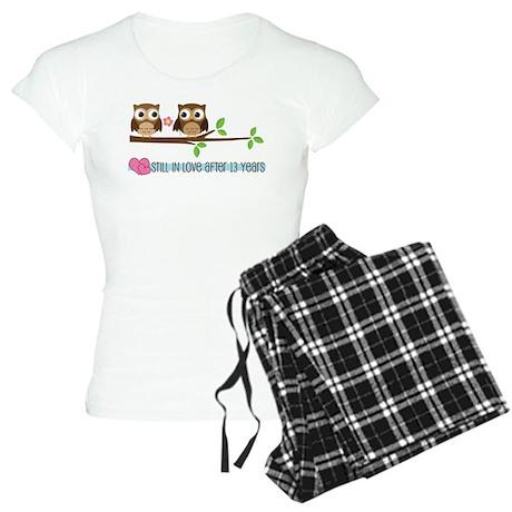 Owl 13th Anniversary Women's Light Pajamas