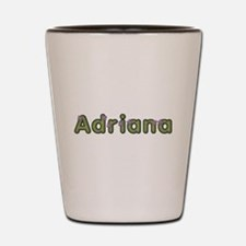 Adriana Spring Green Shot Glass