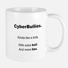 Cyberbullies - Bull and Lies Mug