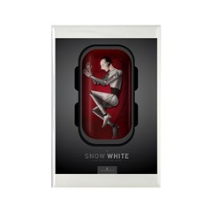 Sci Fi Snow White Rectangle Magnet (100 pack)