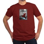Sci Fi Red Riding Hood Men's Fitted T-Shirt (dark)