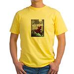 Sci Fi Red Riding Hood Yellow T-Shirt
