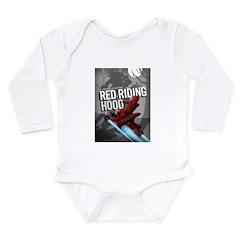 Sci Fi Red Riding Hood Long Sleeve Infant Bodysuit