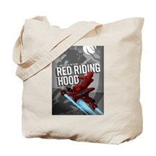 Sci Fi Red Riding Hood Tote Bag