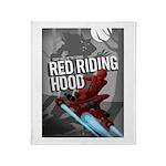 Sci Fi Red Riding Hood Throw Blanket