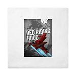 Sci Fi Red Riding Hood Queen Duvet