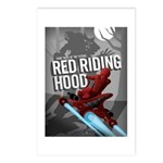 Sci Fi Red Riding Hood Postcards (Package of 8)