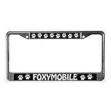 Foxymobile License Plate Frame
